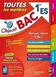Objectif Bac - Toutes les matières 1ère ES