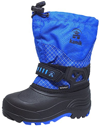 Kamik Child Dare Snow Boots Blue 11 (Kamik Lined Snow Boots)