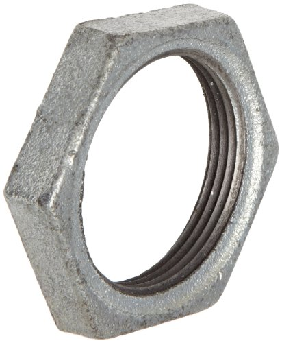 Anvil 8700162509, Malleable Iron Pipe Fitting, Locknut, 1/2