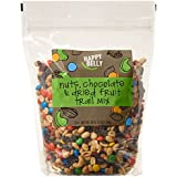 Amazon Brand - Happy Belly Amazon Brand Nuts, Chocolate & Dried Fruit Trail Mix, 48 ounce