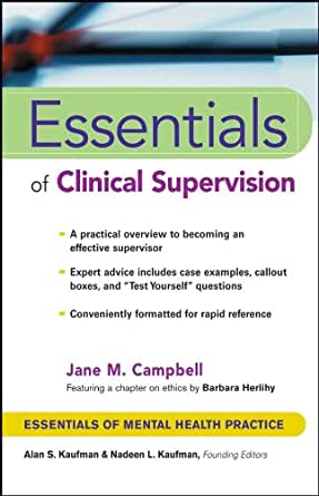 Essentials of clinical supervision essentials of mental health essentials of clinical supervision essentials of mental health practice 1st edition kindle edition fandeluxe Choice Image