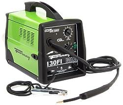 Forney 306 MIG Welder 130FI-A Flux Core Gas/No Gas, 120-Volt, 130-Amp