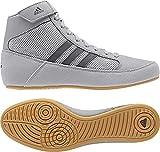 adidas Hvc2 Youth Light Onyx Dark Onyx Wrestling Shoes Onyx 4.5