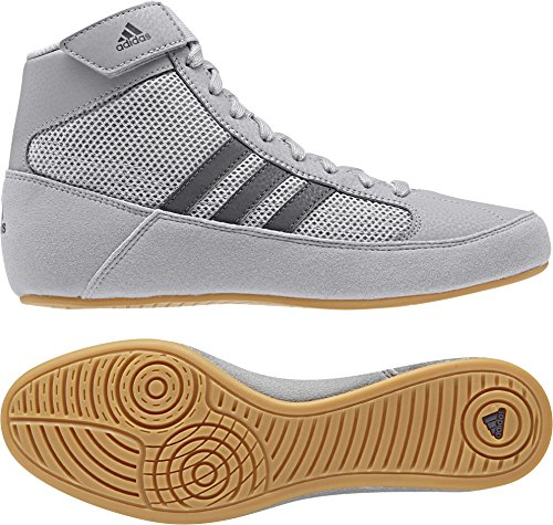 adidas Hvc2 Youth Light Onyx Dark Onyx Wrestling Shoes Onyx 10