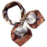 Pumsun Fashion Women Square Head Scarf Wraps Scarves Ladies Printed Kerchief Neck Scarf (G)