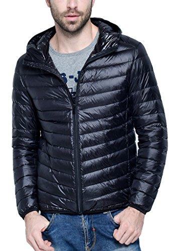 Женская одежда Men's Hooded Packable Down