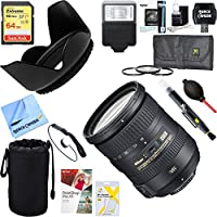 Nikon (2192) AF-S DX NIKKOR 18-200mm f/3.5-5.6G ED VR II Lens + 64GB Ultimate Filter & Flash Photography Bundle
