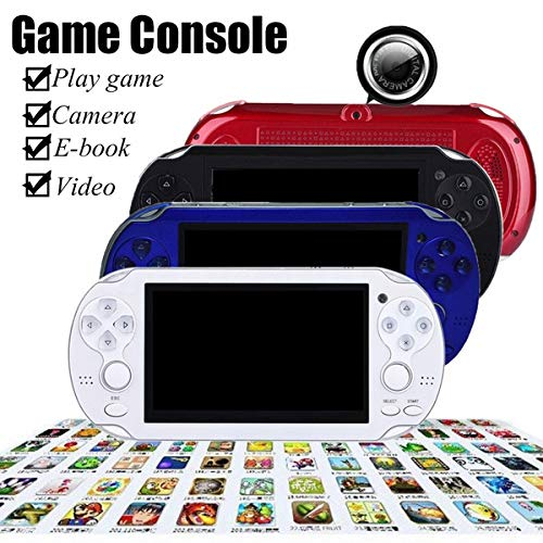 (Mingbao 8GB Video Game Console 4.3 inch Multimedia Handheld Game Player Built-in MP4 MP5 Players and Free 2000 Kinds)