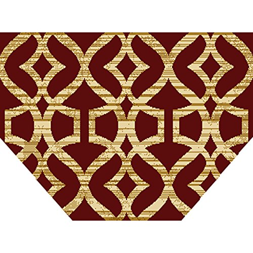 Home Dynamix HD5396-200 Royalty Collection Hearth Area Rugs, 23-Inch, Red