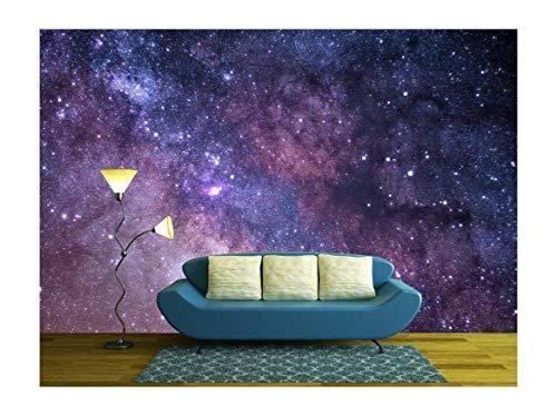 Cosmos Concept in Purple