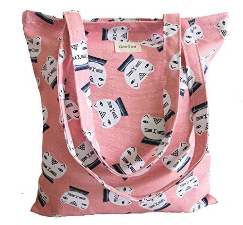 9f1bb9109beb Women's Canvas Tote Shoulder Bag Stylish Shopping Casual Bag ...