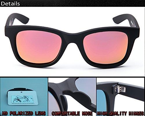 Hombre Polarizadas Protección C5 UV C5 Aviator De para Sol 400 Gafas para Mujer 8cUO0