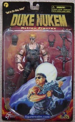 Duke Nukem Action Figure : Nightstrike Duke