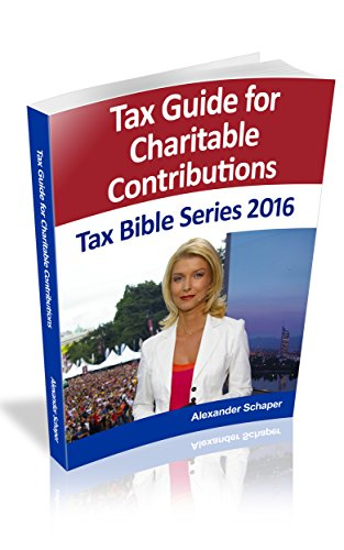 Charitable Contributions: Tax Bible Series 2016