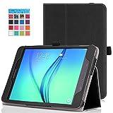 MoKo Samsung Galaxy Tab A 8.0 Case - Slim Folding Cover Case for Galaxy Tab A 8.0 inch Tablet SM-T350, BLACK