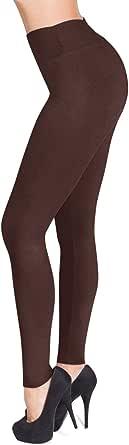 SATINA Women's High Waisted Leggings