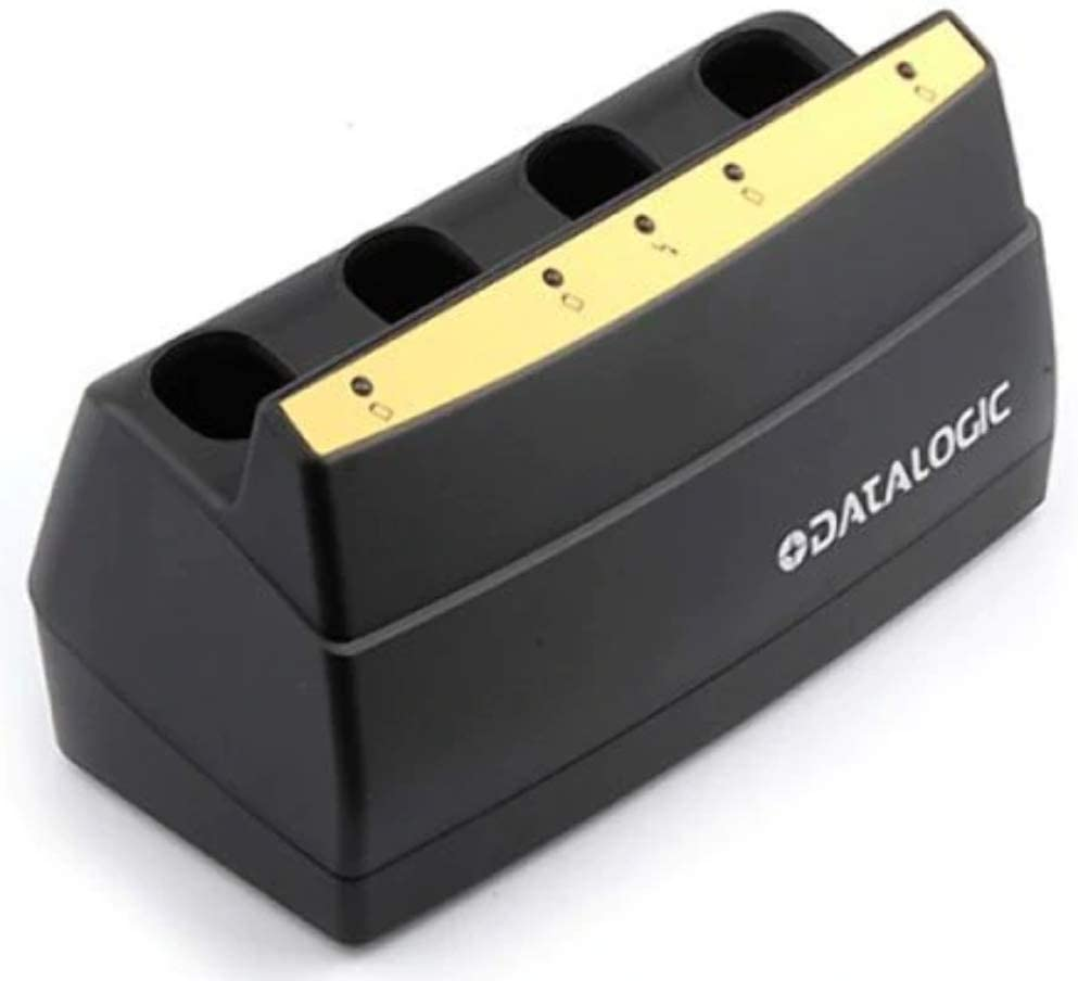 Datalogic MC-P090 MC-9000 BATTERY CHARGER 4-SLOT IN Barcode POS /& Warehousing  Barcode Device Accessories