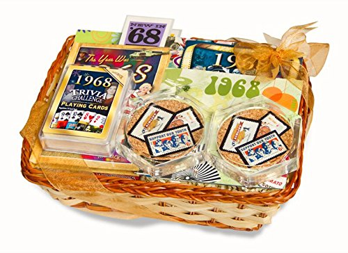 50th Birthday or 50th Anniversary Gift Basket by Birthday And Anniversary Gifts