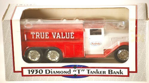 1992-ertl-true-value-1930-diamond-t-tanker-bank-134-scale-die-cast-metal-rubber-tires-made-in-usa-di