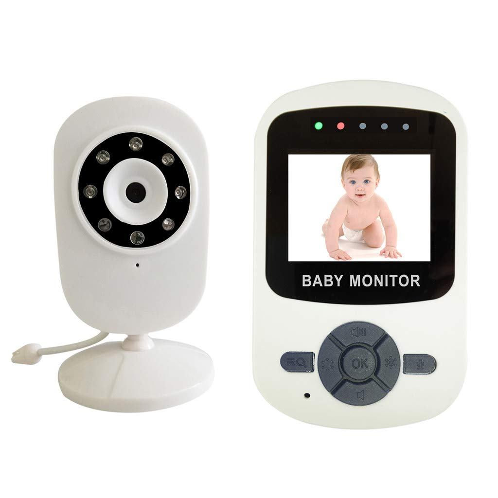 Dowager Baby Monitor, Wireless IP Security Camera WiFi Surveillance Pet Camera Two Way Audio Remote Viewing Pan/Tilt/Zoom Night Vision Motion Detect for Home/Shop/Office