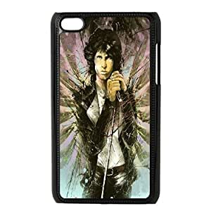 HQYDIY Customised jim morrison Plastic Case, Personalised jim morrison Hard Cell Phone Case for Ipod Touch 4