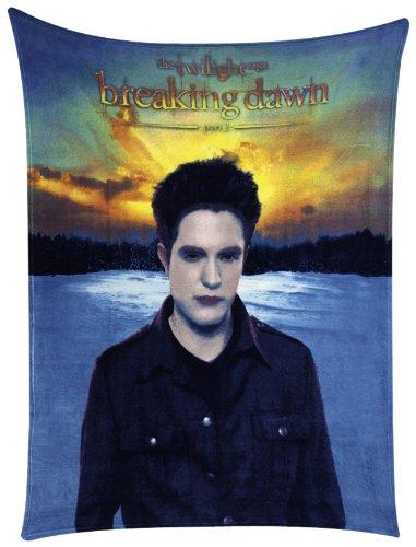 Twilight Breaking Dawn Part 2 Fleece Throw Edward