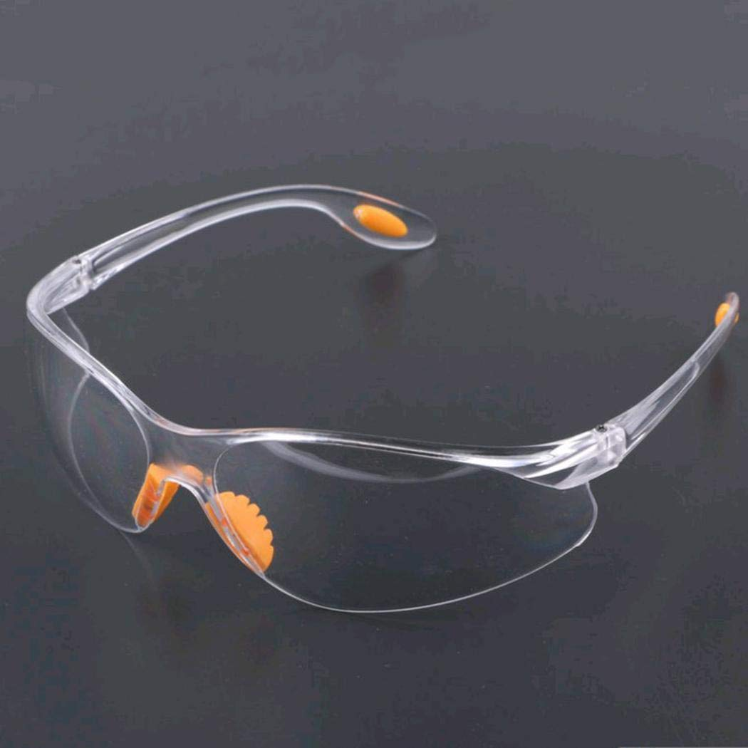 Xixini Laboratory Hospital Durchsichtige PC-Schutzbrille Brillen 5.71 x 1.97 Zoll (L x B)