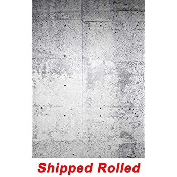 fe50fefd220e09 White Concrete Wall Backdrop Cement Wall Chic Stylish Rustic Wall Portrait  Printed Fabric Photography Background (G1462
