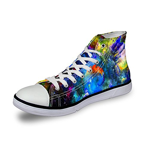 Ledback High Top Galaxy Zapatos De Lona Para Mujeres Causal Sneakers Teenagers Girls Lightweight 3d Trainers Design 6