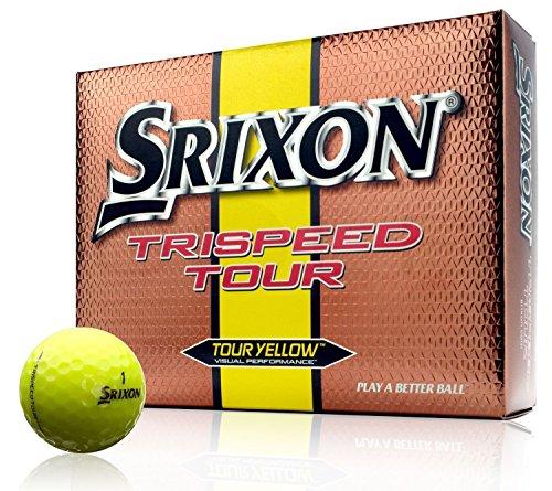Srixon Trispeed Tour One Dozen Yellow Golf Balls