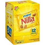 Nilla Wafers Mini Cookies - Snack Packs, 12 Count Box, 12 Ounce