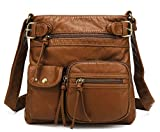 Scarleton Accent Top Belt Crossbody Bag H183304 - Brown