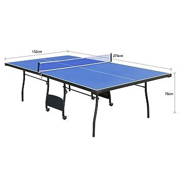 Avec Professionnelle Grande Filet De Pong Ping Pliable Table E2YW9IDH