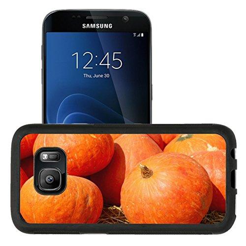 Liili Samsung Galaxy S7 Aluminum Backplate Bumper Snap Case retriver Photo 19682663 iPhone6 ID: 25382752 Harvest fresh pumpkin orange in the farm for halloween (Stock Photo Halloween Pumpkins)