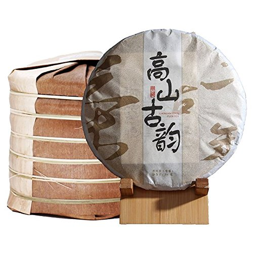 Dian Mai Whole raise 7 cakes Pu'er tea 2017 New tea High mountains ancient charm 357 g/cake Total 2499G 整提7饼普洱生茶 2017年新茶 高山古韵357克/饼 共2499G by Dian Mai 滇迈