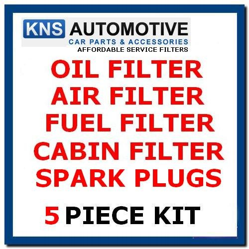 Ka 1.6i Sport & Streetka Oil,Fuel,Air,Pollen Filters & Plugs Service Kit: