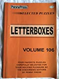 Penny Press Selected Puzzles Letterboxes *Volume 106* Special Collection