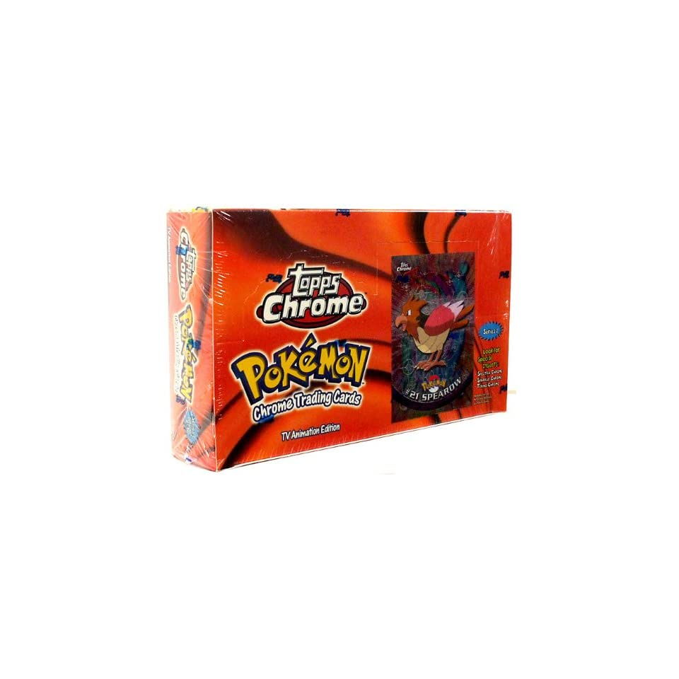 Topps Pokemon Trading Cards TV Animation Series 2 Booster Box 36 Packs