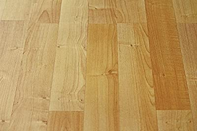 Excellent German Quality Laminate Planks By Flooring King | With Protective Layer For Long Lasting Use | Real Natural Maple Wood Look & Feel | Click Locking For Simple & Comfortable Installation