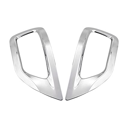Amazon Chrome Plated Rear Fog Light Lamp Cover Trim Compatible