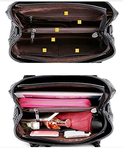 Borse A rosso Bodyshoulder In Borsa Donna Pelle Viaggio Tracolla Da Moda Dark ra1PHrY