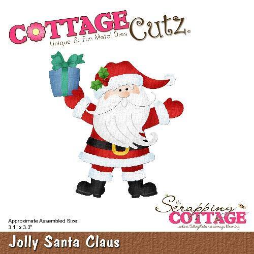 CottageCutz Die-Jolly Santa Claus 3.1