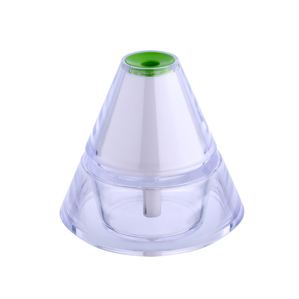Bayin Iceberg Humidifier Cool Mist with 3 Mode LED Night Light Humidifier for Home/Bedroom (Green)
