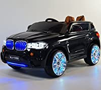 Black BMW X5 12V Ride-on Car for Kids 2-5 Years of Age with Remote Control BJ1588