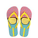 flip flops Women Beach Slippers Summer House Shoes Woman Flat Sandals Glasses Print Female Home Slippers yellow 5