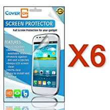 [6 Pack] CoverON® for Samsung Galaxy S4 Clear Screen Protector [Slim HD Quality Transparent Protective Film LCD Cover]