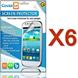 [6 Pack] CoverON® for BLU Advance 4.0 A270A Clear Screen Protector [Slim HD Quality Transparent Protective Film LCD Cover]