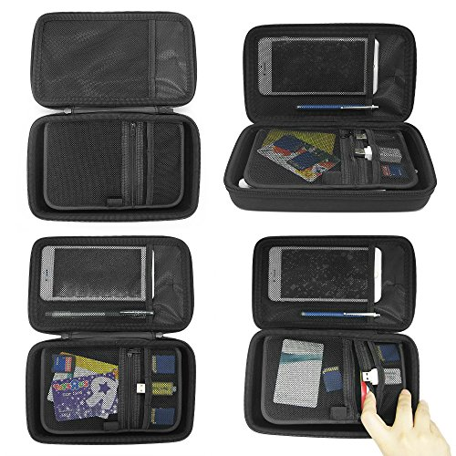 Sisma Travel Organizer Carrying Bag 2 in 1 for Electronics and Accessories Black Bundled SCB16128S-B Photo #6