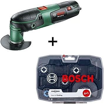 Bosch doméstica unidades & Jardín PMF 220 CE multifunción de herramientas, color verde/negro: Amazon.es: Bricolaje y herramientas