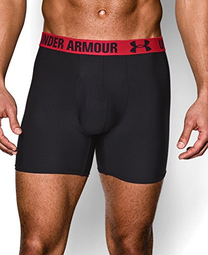 "Under Armour Men's UA HeatGear Performance 6"" Boxerjock 2-Pack"